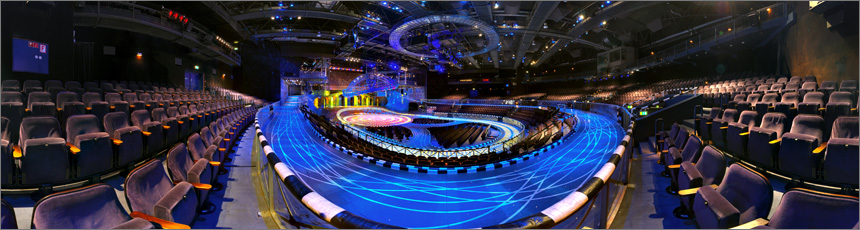 Panoramafotos: Starlight Express Bochum